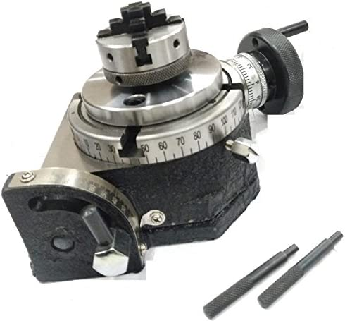"OUT OF STOCK 90 DAYS 10/"" Horizontal and Vertical ROTARY TABLE W// 10/"" 3 JAW Self"