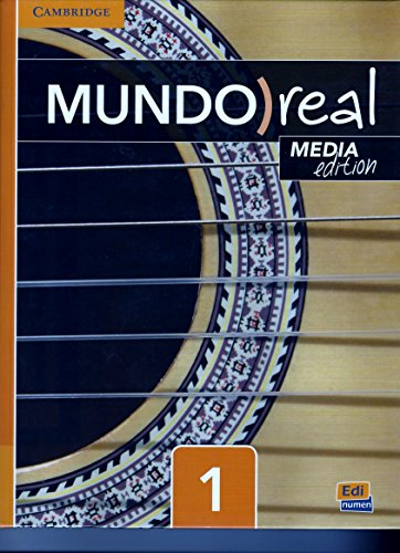 Mundo Real Level 1 Students Book Media Edition  Spanish Edition