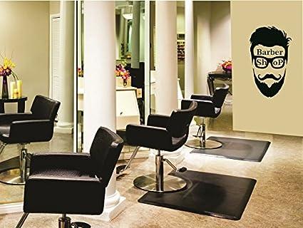 Buy SYGA Men\'s Haircut Salon Wall Art Barber Shop Wall Stickers ...