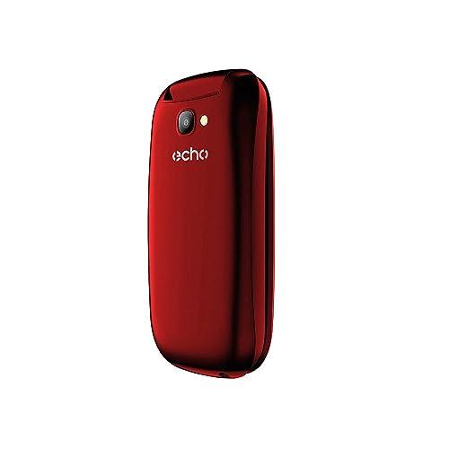 Echo Clap 2 Téléphone portable débloqué (Ecran: 1,77 pouces - 32 Mo - Double Micro-SIM - Android) Rouge