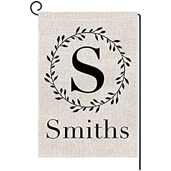 Printed Burlap Tossed Type Letter Number symbol By The Yard