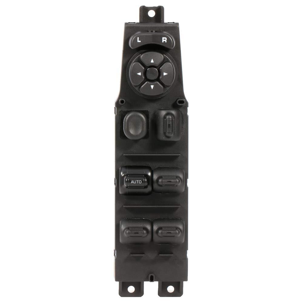 SCITOO Power Window Switch High Performance Automotive Replacement Parts fit for 2001-2004 DODGE DAKOTA 2001-2003 DODGE DURANGO 2002-2008 DODGE RAM 1500 2500 3500 PICKUP 5GU34DX9AB