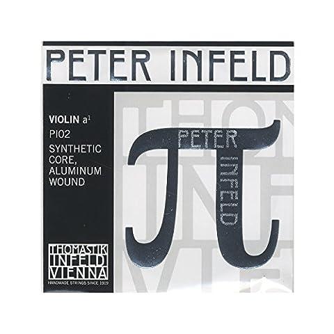 Thomastik Peter Infeld 4/4 Violin A String - Medium Gauge (Violin Strings For 3 4)