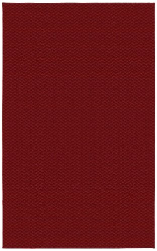 Garland Rug Medallion Area Rug, 9-Feet by 12-Feet, Chili Pepper Red (Rug Chili Pepper)