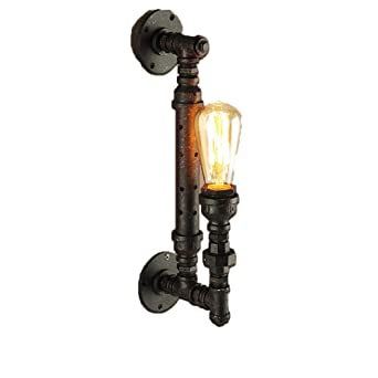 Creativos industriales lámpara de pared Lámpara de pared de ...
