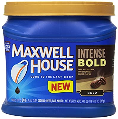 Maxwell House Intense Bold Ground Coffee, 30.6 Ounce by Maxwell House