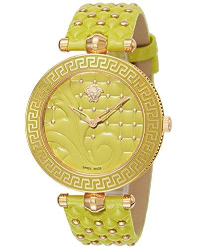 Versace VERSACE VANITAS quartz Ladies Watch VK7110014 yellow