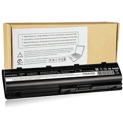 001 Notebook Battery Replacement - Futurebatt Replacement Long Life Notebook Laptop Battery for HP MU06 MU09 SPARE 593554-001 593553-001