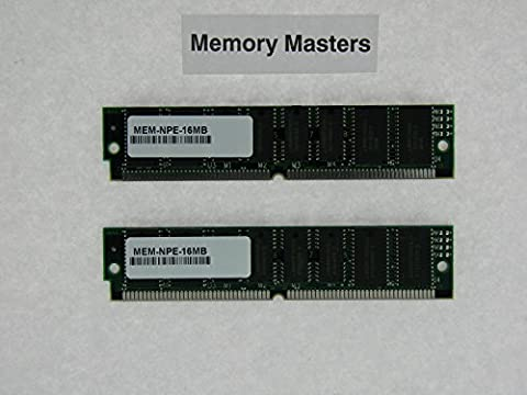 MEM-NPE-16MB 32MB Approved 2x16MB DRAM Memory Kit for Cisco NPE-100/150/200(MemoryMasters) - 32 Mb Approved Memory