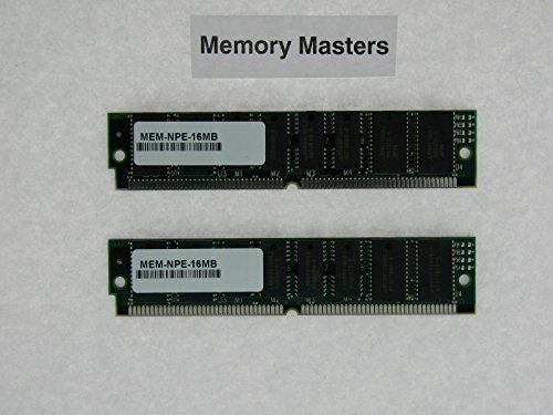 MEM-NPE-16MB 32MB Approved 2x16MB DRAM Memory Kit for Cisco NPE-100/150/200(MemoryMasters)