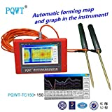 PQWT-TC150 auto mapping colourful geoelectrical 150m depth underground water detector