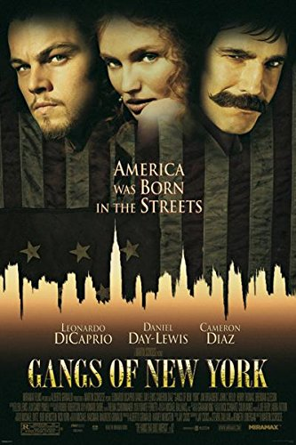 Pyramid America Gangs of New York One Sheet Poster 24x36 inc