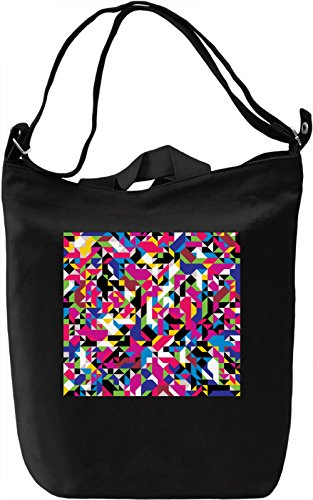 Colorful Graphic Texture Borsa Giornaliera Canvas Canvas Day Bag| 100% Premium Cotton Canvas| DTG Printing|