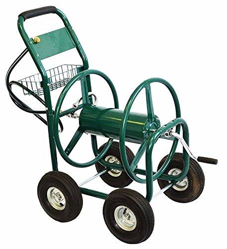 SKEMIDEX---Garden Water Hose Reel Cart 300FT Outdoor Heavy Duty Yard Water Planting New And best garden hose reel hose reel home depot hose reel costco hose reel amazon hose reel cart hose hideaway by SKEMIDEX