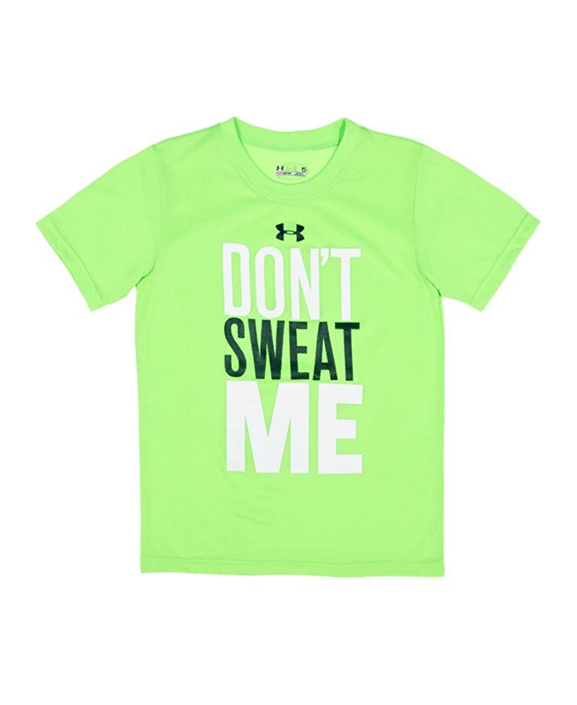Under Armour Boys Infant UA Dont Sweat Me T-Shirt Infant 12 Months HYPER GREEN