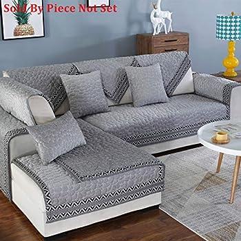 Amazon.com  Reversible Sectional sofa throw cover pad Sofa furniture ... 320ecdb006