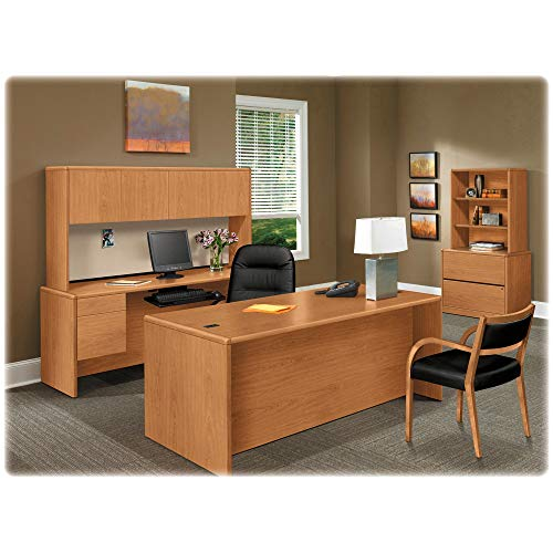 HON Storage Stack-On Workstation, 74-5/8 by 14-5/8 by 37-1/8-Inch, Harvest ()