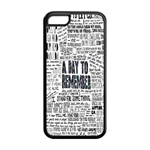 A Day To Remember Hard Cell Phone Cover Case for iPhone 5C,5C Phone Cases Designed by HnW Accessories