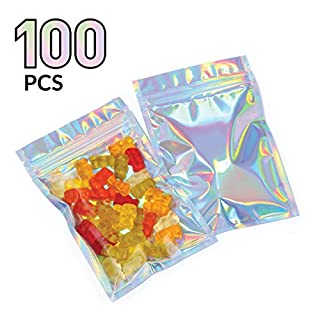 Mylar Bags with Ziplock 4 x 6"