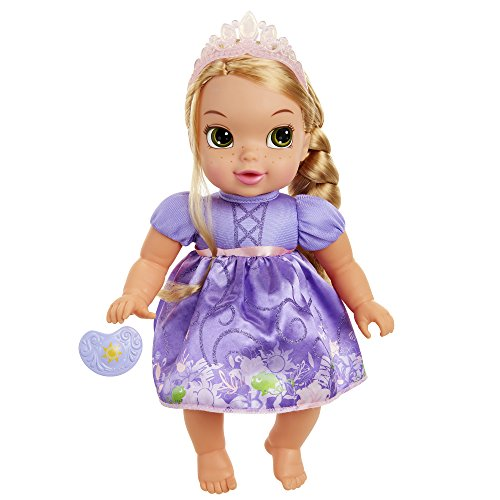 xe Baby Rapunzel Doll with Pacifier Toy (Little Mermaid Deluxe Ariel Tiara)
