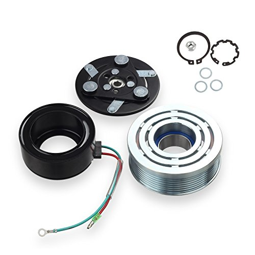 AC A/C Compressor Clutch Assembly Kit for 2006 2007 2008 2009 2010 2011 Honda Civic 1.8L (Honda Civic Air Conditioning)