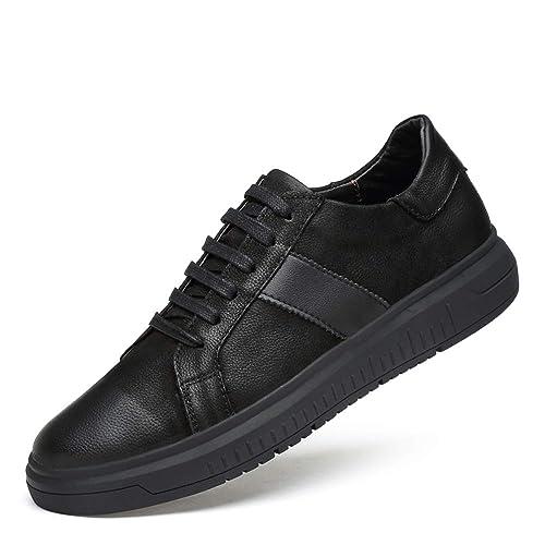 HPLL Zapato Zapatos Casuales de Hombre, Zapatillas de Deporte Planas, Zapatos Negros de otoño de Corte bajo para jóvenes 36-46: Amazon.es: Zapatos y ...