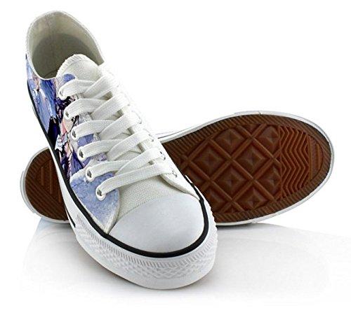 Serafino Della Fine Yuichiro Hyakuya Mikaela Hyakuya Scarpe Cosplay Scarpe Sneakers Blu