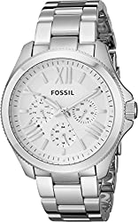 Fossil Women's AM4509 Cecile Multifunction Silver-Tone Stainless Steel Watch
