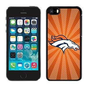 Custom Gift Special Iphone 5c Case NFL Denver Broncos 05 Team Logo Sports Cellphone Protector