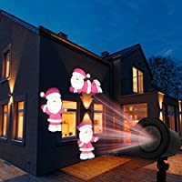 Access Control Kits Fine Kshioe Led Automatic Conversion Santa Claus Led Christmas Decoration Outdoor Landscape Lawn Lamp Us Attractive Fashion Security & Protection