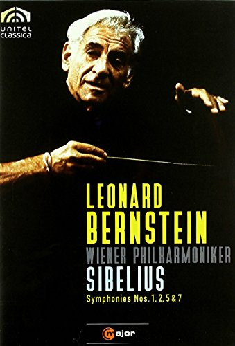 Sibelius: Symphonies Nos. 1, 2, 5 & 7 - featuring Leonard Bernstein and the Vienna Philharmonic - Sibelius Symphonies Nos