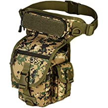Protector Plus Tactical Drop Leg Bag Military Fanny Tool Thigh Pack MOLLE Panel Utility Pouch Cross Over Leg Rig Versipack