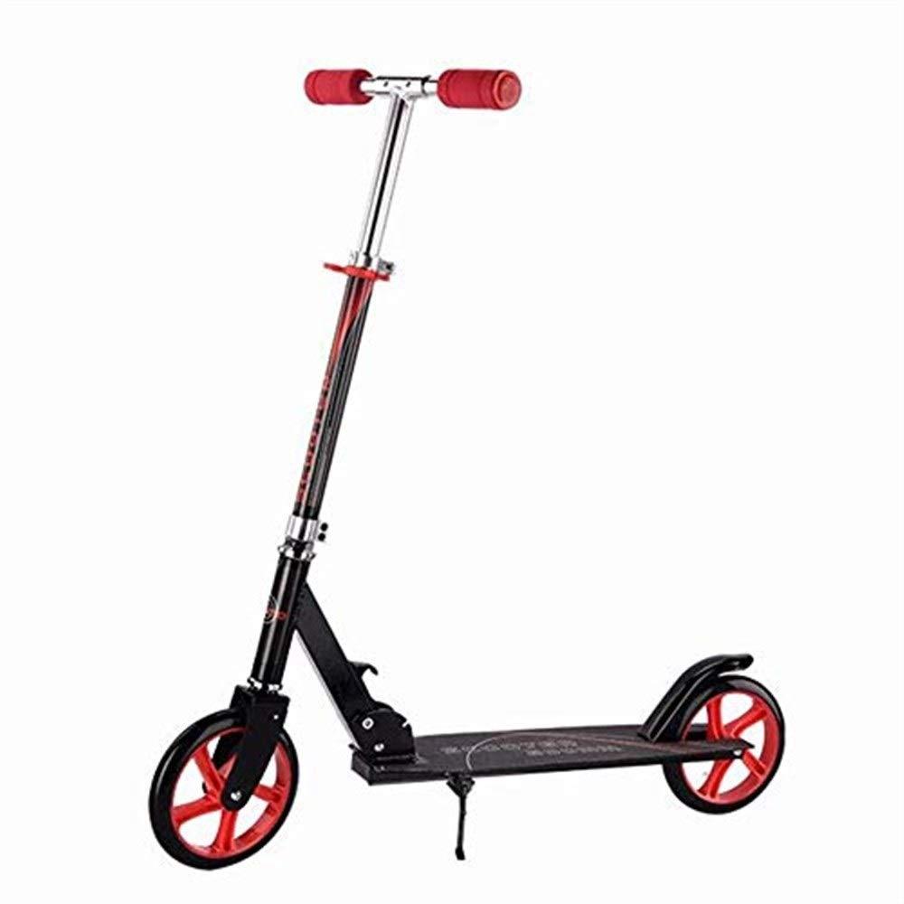 数量は多 スクーター幼児用スクーター スクーターを蹴る子供たちスクーター 子供用スクーター B07R5JXR2P、二輪スクーター、折りたたみ自転車(6-18歳に最適)(カラー:ブラック) 子供用スクーター B07R5JXR2P, 命一番堂:93dae278 --- 4x4.lt