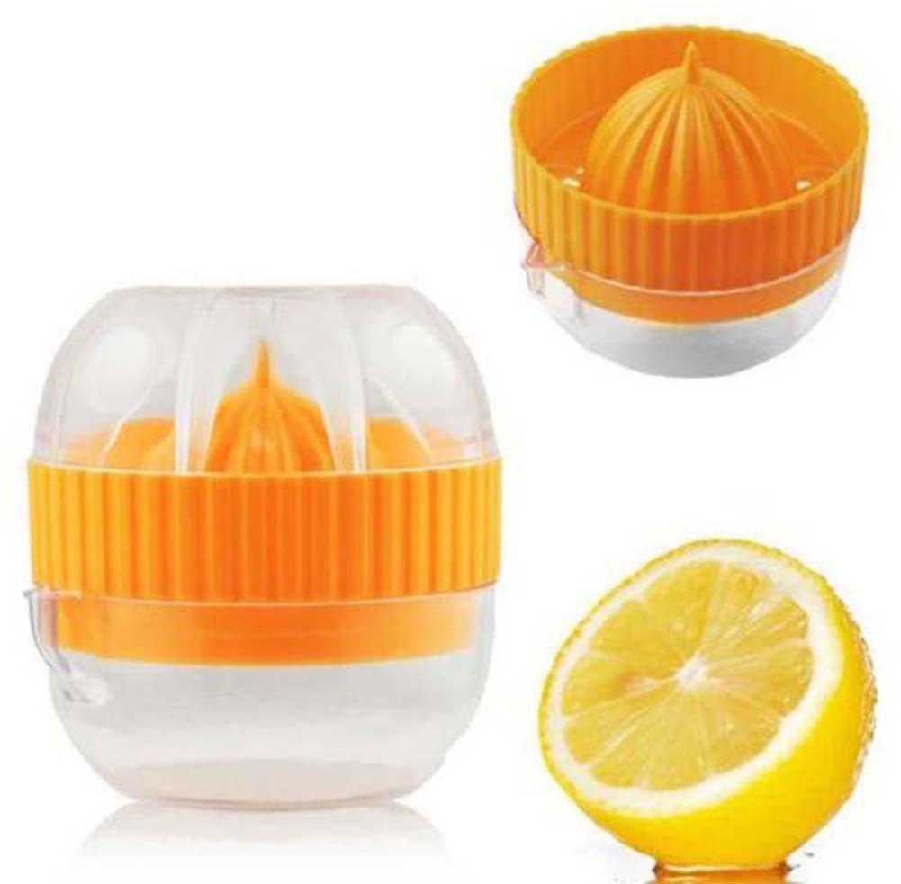 Genonaute Zitronenpresse Deckel Manuelle Fruchtpresse Küchenwerkzeug (zufällige Farbe)