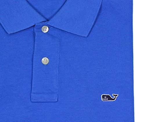 Vineyard Vines Mens Solid Spinnaker SS Performance Golf Polo Shirt