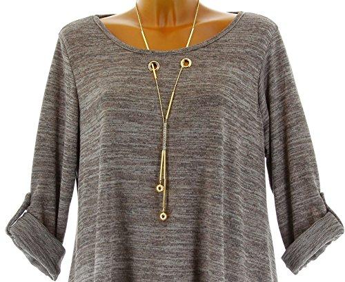 Charleselie94® - Camisas - para mujer marrón