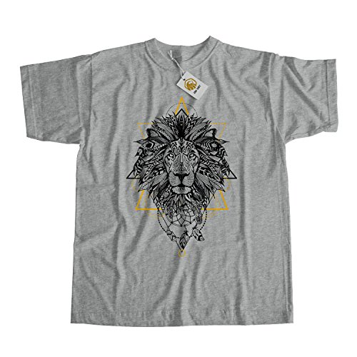 Cute Hipster Lion Dreamcatcher T-Shirt, Unique design Dreamcatcher Lion Shirt