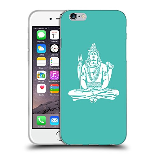 GoGoMobile Coque de Protection TPU Silicone Case pour // Q09530634 Hindou 7 Turquoise // Apple iPhone 7