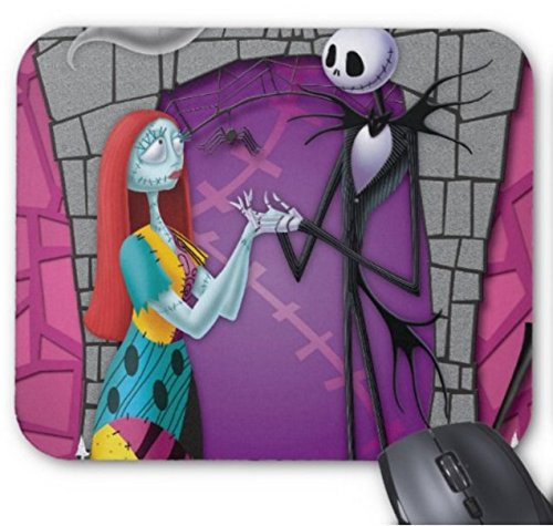 Jack and Sally Holding Hands Mouse -