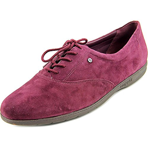 Lace up Women's Suede Wine Oxford Motion Easy Spirit CqtFw