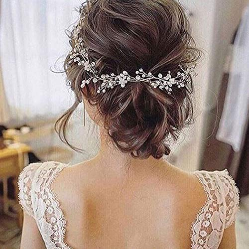 Artio Bride Wedding Hair Vine Accessory Beaded Hair