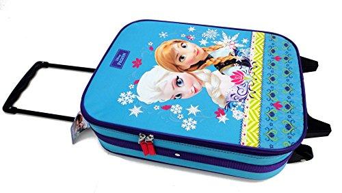 FROZEN Die Eiskönigin Elsa & Anna Trolley Kofferwagen Tasche Urlaub Disney