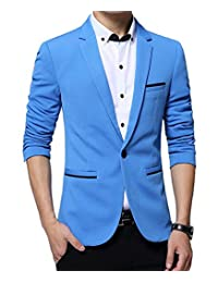 Benibos Men's Slim Fit Casual Premium Blazer Jacket