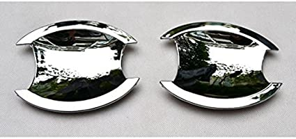 Wotefusi Car New Black Color Pair ABS Electroplating Front Headlight Lamp Light Cover Molding Trim Frame Rim Kit Set Bird Type for Jeep Patriot 2011-2016 2012 2013 2014 2015