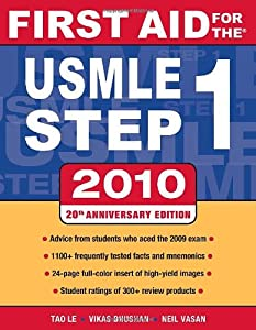 First Aid for the USMLE Step 1 2008    book by Tao T  Le