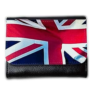 le portefeuille de grands luxe femmes avec beaucoup de compartiments // M00155002 Bandera de Union Jack británica de // Medium Size Wallet