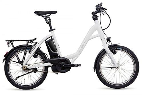 E-Bike Flyer Flogo 3.01R in weiss Rücktrittbremse 20' Kompakt-Ebike