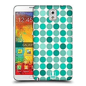 Head Case Designs Emerald Fancy Spot Protective Snap-on Hard Back Case Cover for Samsung Galaxy Note 3 N9000 N9002 N9005