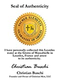 The Christian Mint, LLC Bottled Lourdes Water with