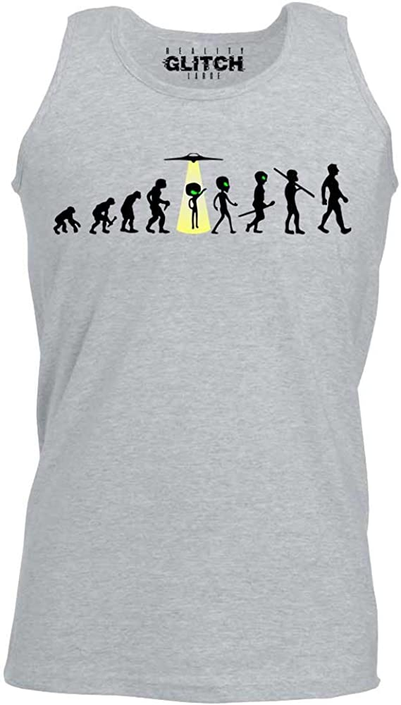 Alien Abduction Vest Reality Glitch Mens Evolution